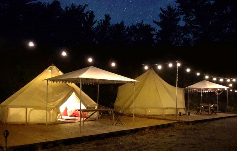 関西 滋賀 グランピング キャンプ場 バーベキュー場 手ぶらバーべキュー 川遊び